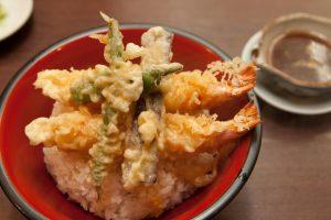 「天ぷら丼」1,860円 (小)930円