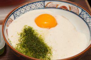 「とろろ丼」 1,450円 (小)730円