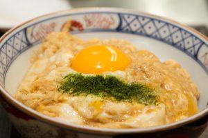 「玉子丼」 720円 (小)400円