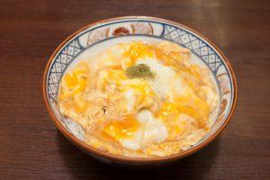 「親子丼」 1,030円 (小)550円「親子丼」 1,030円 (小)550円