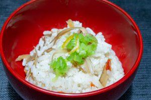 鶏牛蒡飯3