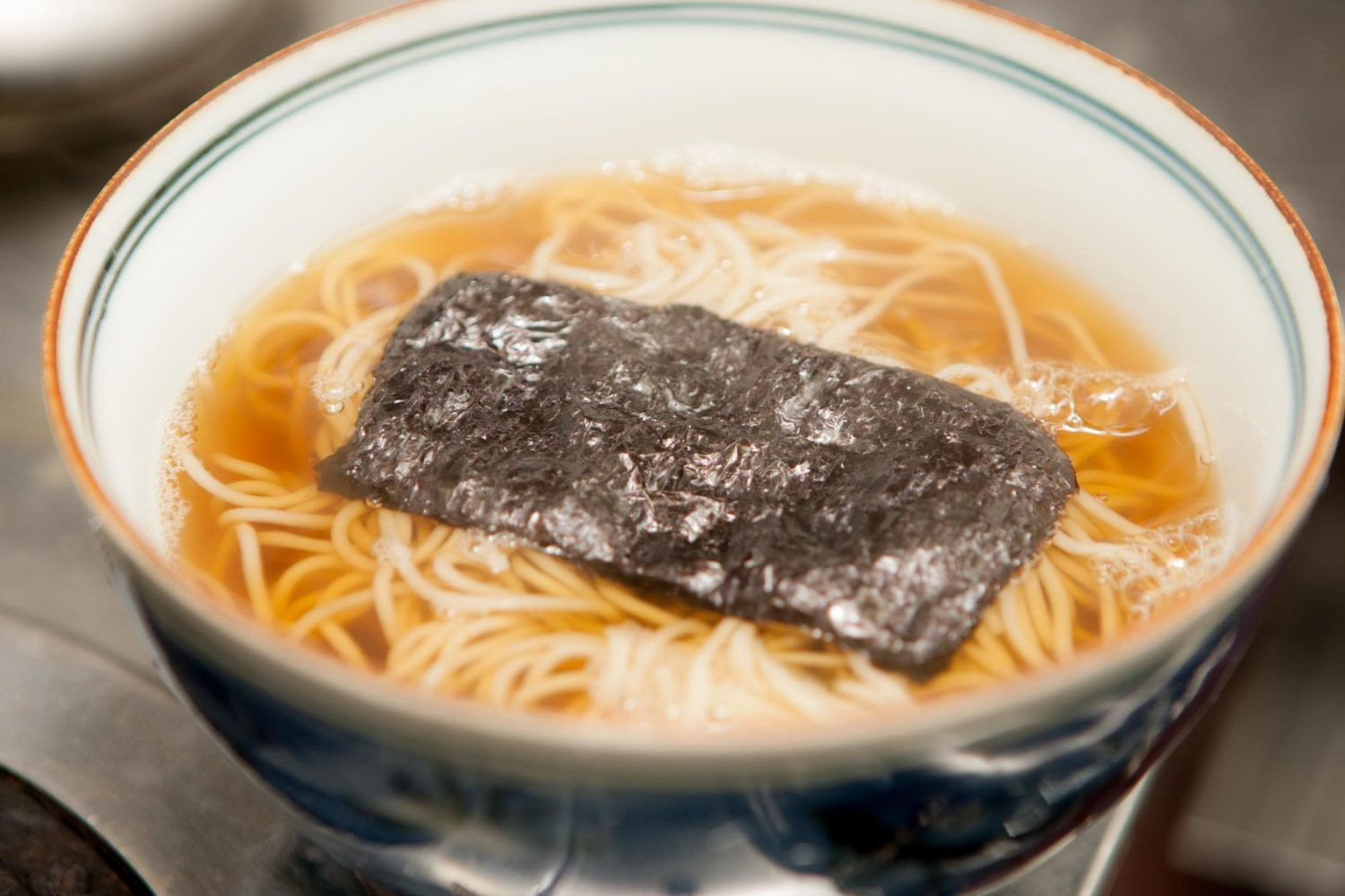 KAKE(かけ) : Was placed in a hot soup of noodle