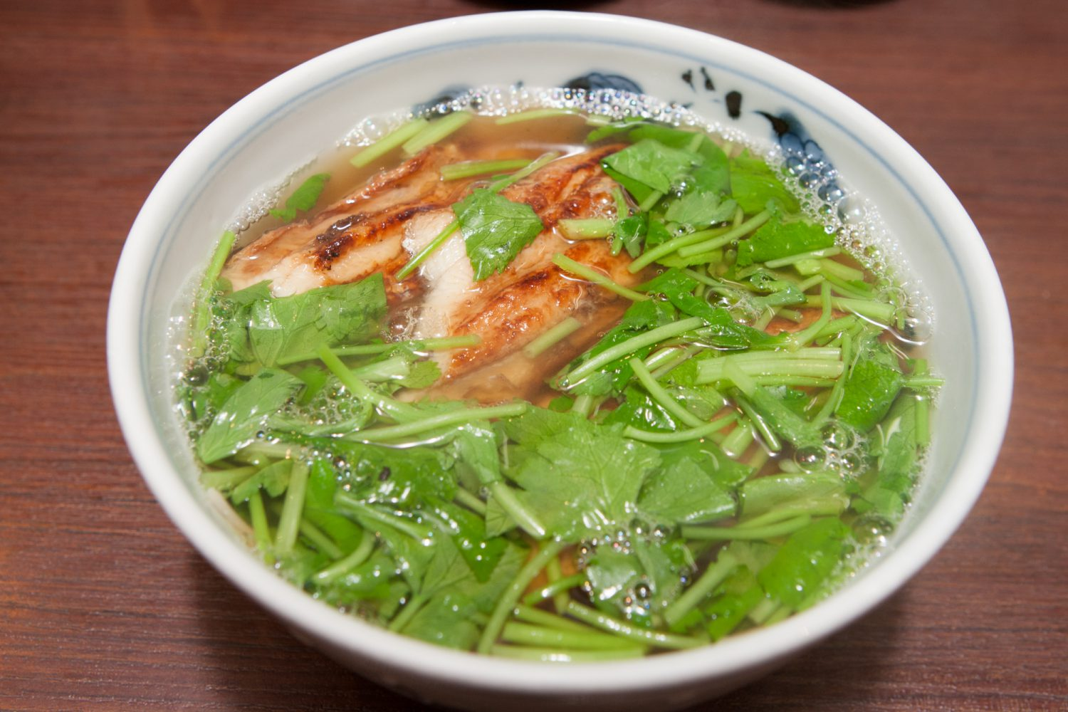 ANAGO(穴子) : Noodles with cooked conger eel