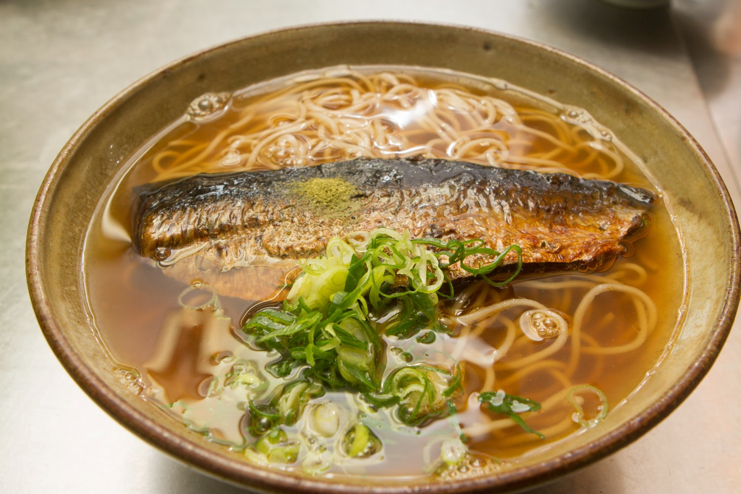 NISHIN(にしん) : Noodles with cooked herring